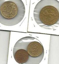 Buy Finland Coin LOT 1: 50 PENNIA 1972 COIN ; 20 PENNIA 1987 COIN ; 10 PENN; 5 PENNI