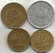 Buy Poland Coin Lot 1: (4 Coins) 1,2, & 5 Zlotych