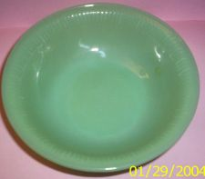Buy 1950's Anchor Hocking/Fire King Jadite Jane Ray Bowl
