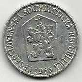 Buy 1966 Czechoslovakia 5 Haleru