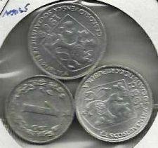 Buy 3 coin Czechoslovakia Set - 1 Haler, two 10 Haleru