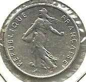 Buy 1966 France 1/2 Franc Coin