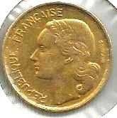 Buy 1951 French Ten (10) Franc Coin in Excellent Condition
