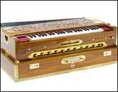 Buy Harmonium 9 Scale Changer - Teak Wood, Dark Color Tabla Tanpura