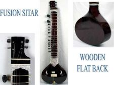 Buy Sitar Blackcut Fusion with Double Pick Up - Electric Sitar, Travel/Studio Sitar