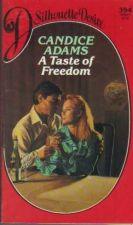 Buy A Taste of Freedom - Candice Adams ( H1003 )