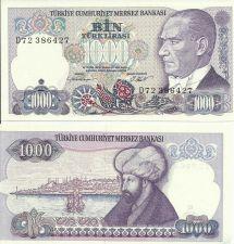 Buy New Issue Turkey 1000 Lirasi Note