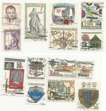 Buy Czechoslovakia Stamp lots 1 & 2 of 13 Stamps