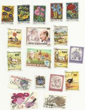 Buy Central Africa Czechoslavakia Jugoslavia Niger 18 Stamps