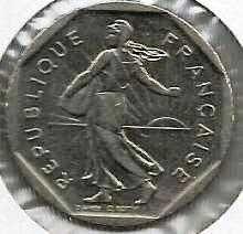 Buy 1980 France 2 Francs Coin