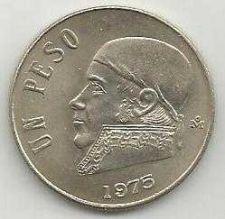 Buy Mexico 1 Peso 1975 coin