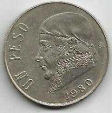 Buy Mexico 1 Peso 1980 coin