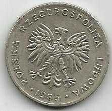 Buy Poland 20 Zlotych 1983 Coin, Eagle