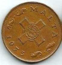 Buy 1975 MALTA 1 CENT