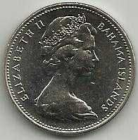 Buy 1969 BAHAMAS 25 cents