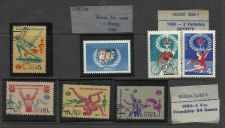 Buy Rare Russian Olympics Stamps 1946; 1965; 1984