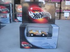 Buy 1:64 100% HOT WHEELS INVADER GOLD WITH WHITE FLAMES