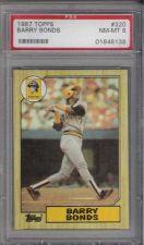 Buy 1987 Topps #320 Barry Bonds Pittsburgh Pirates PSA 8 NM-MT San Francisco Giants
