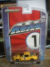 Buy 1:64 Road Racers 2012 Ford Mustang Boss 302R #15 Yellow by Greenlight B69