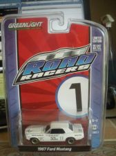 Buy 1:64 Road Racers 1967 Ford Mustang #35 White by Greenlight B69