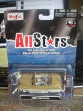 Buy 1:64 All Stars 1950 Mercury Convertible Brown & Pearl White by Maisto B69