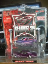 Buy 1:64 GRidez 1965 Buick Riviera Purple with Silver Flames by Maisto B07