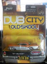 Buy 1:64 DUB City Old Skool 1957 Buick Silver & Orange by Jada Toys B07