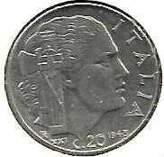 "Buy ITALY 1943 20 Centesimi * HIGHER Grade COIN * ""WWII Facist Italy"""