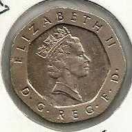 Buy GREAT BRITAIN 20 Pence 1996