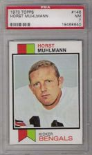 Buy 1973 Topps Football #146 Horst Muhlmann PSA 7 NM Cincinnati Bengals