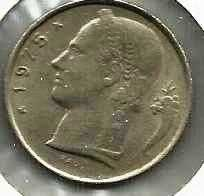 Buy 1975 Belgium 5 Franc coin