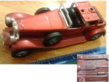 "Buy Matchbox Models of Yesterday Y-4 1 1930 Model ""J"" Duesenberg Town Car @1975"