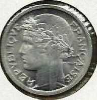 Buy 1945 France 1 Franc Coin