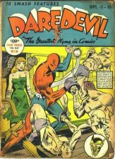Buy GOLDEN AGE DAREDEVIL COMICS