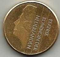 Buy Netherlands 5 Gulden 1989