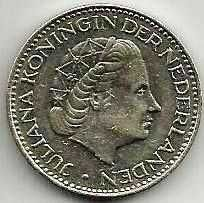 Buy Netherlands 1 Gulden 1969