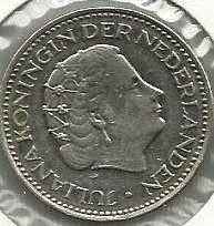 Buy Netherlands 1 Gulden 1971