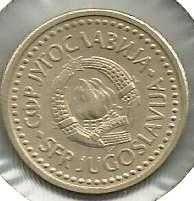 Buy Yugoslavia 1 Dinar 1990 Coin