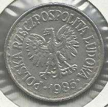 Buy Poland 1 Zlotych 1985