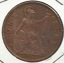 Buy GREAT BRITAIN 1 Penny 1927