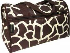 "Buy Brown Giraffe Print 19"" Duffle Bag-NWT"