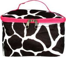 Buy Black Giraffe Case with Fuchsia Trim-NWT