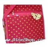 Buy Boutique Pink&Green Polka Dot Diaper Bag/Tote-NWT