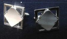 Buy Men's High Quality Silver Color Cuff links - Beautiful set