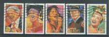 Buy 4497-4501 Latin Music Legends USED Complete Set Off-Paper