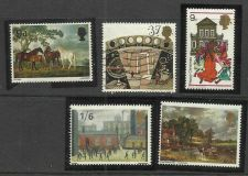 Buy Great Britain 1967-68, British Paintings, SG 748 ,750 UNUSED Lot of 5 Stamps