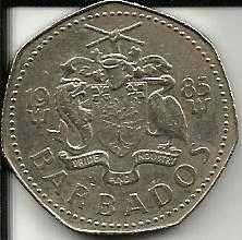 Buy 1985 Barbados 1 Dollar Coin Flying Fish
