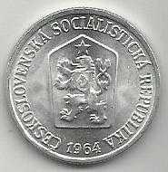 Buy 1964 Czechoslovakia 10 Haleru
