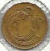 Buy Ireland Irish Eire 1P 1980 Bird Peacock animal coin