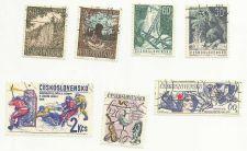 Buy Czechoslovakia Stamp lot 3 of 7 Stamps 4 VAR 1963 + 3BONUS STAMPS